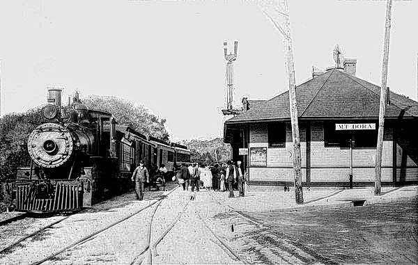 Mount Dora Train Station, 1920
