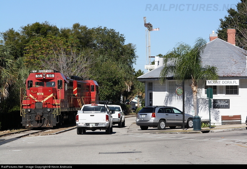 Last Train at the Mount Dora Train Station