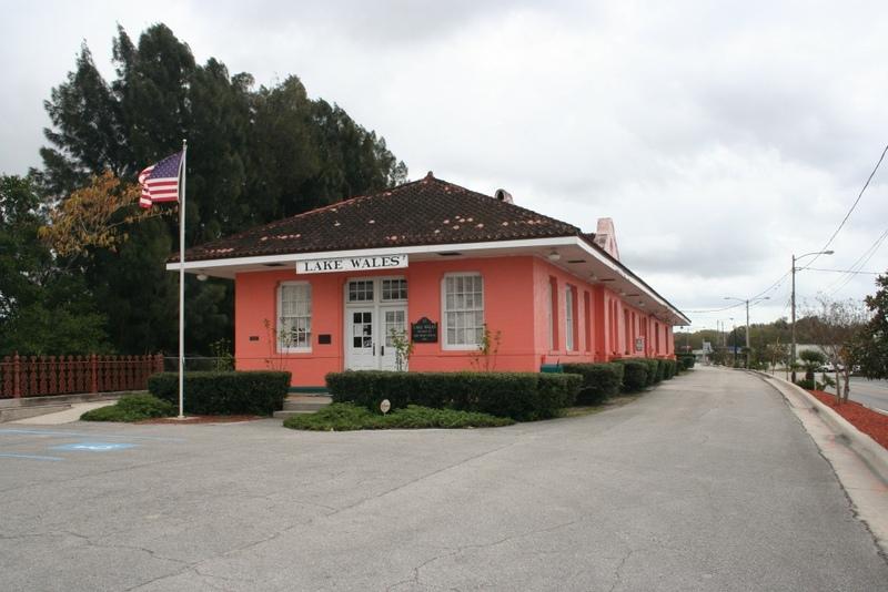Lake Wales Atlantic Coast Line Railroad Depot and Lake Wales Depot Museum