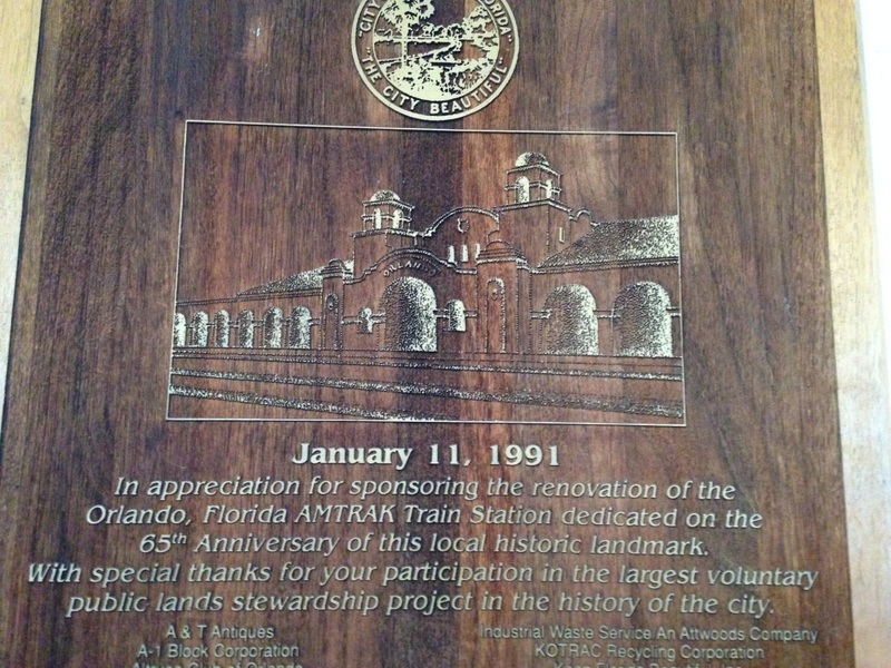 Amtrak Seaboard Coast Line Railroad Station