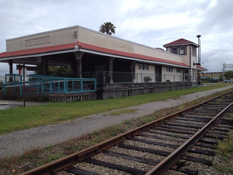 Punta Gorda Atlantic Coast Line Railroad Depot