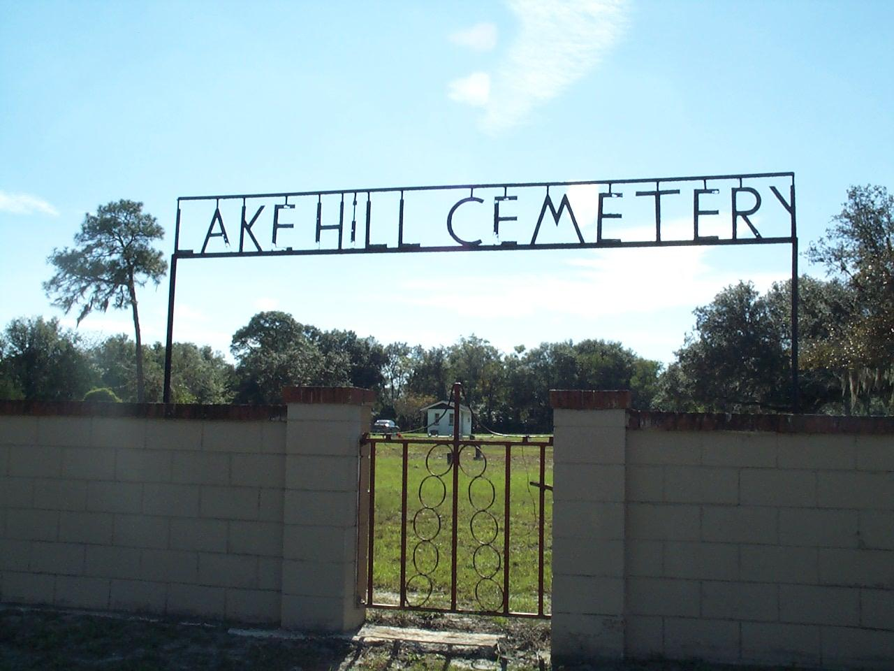 lake hill cemetery located at 5950 old winter garden road in orlando florida in 2001 the cemetery just west of orlando is the site of the remains of