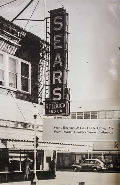 the sears roebuck company store located at 111 113 north orange avenue in downtown orlando florida sears moved into the first floor of philips