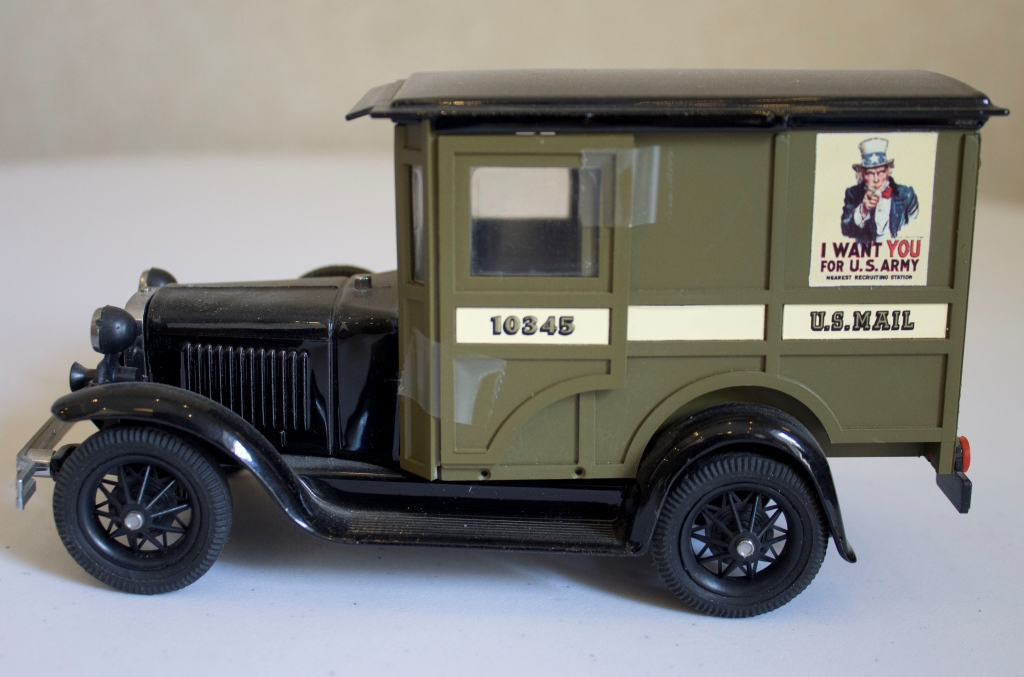 Replica Mail Truck Riches Of Central Florida