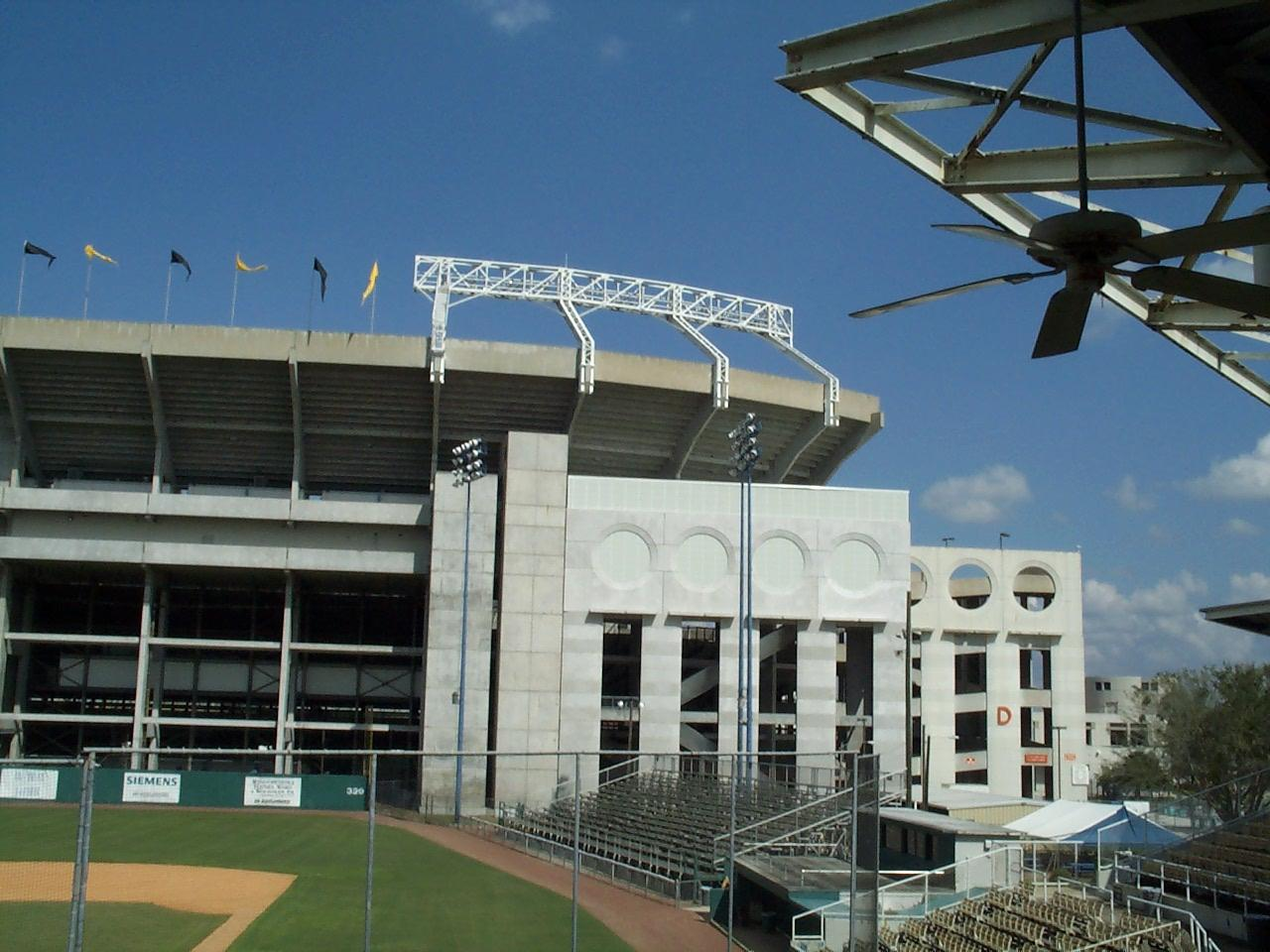 the tinker field stadium located at 287 south tampa avenue in downtown orlando florida in 2003 tinker field is named after joseph b tinker