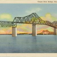 Cooper River Bridge Postcard