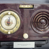 General Electric Radio from Associated Radio Store