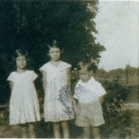 Alice Kathryn Aulin, Mary Leonora Aulin, and Charles Warren Aulin, Sr.