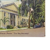 First Methodist Church of Orlando Postcard