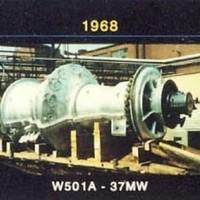W501A Gas Turbine