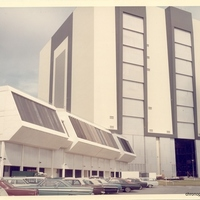 Launch Control Center and Vehicle Assembly Building at John F. Kennedy Space Center