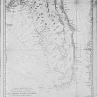 Map of Florida, 1780