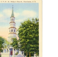 St. Philip's Church Postcard
