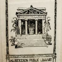 Albertson Public Library Stamp