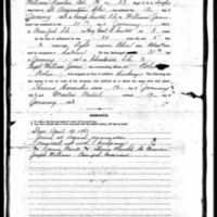 Freedmen's Bureau Application for William Hewlin