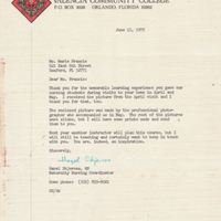 Letter from Hazel Skjersaa to Marie Jones Francis (June 13, 1975)