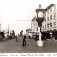 The Famous Clock in Downtown Sanford