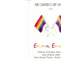 Encore, Encore!, June 19 & 20, 1999