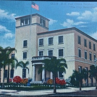 U.S. Post Office Building Postcard