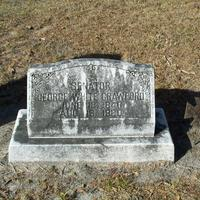 Headstone for George White Crawford at Conway United Methodist Church Cemetery