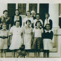 Girls' Auxiliary at the First Baptist Church of Oviedo