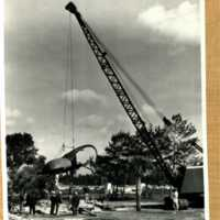 Construction of Hercules Beetle Sculpture at Weeki Wachee Springs