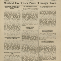 The Maitland News, Vol. 01, No. 09, July 3, 1926