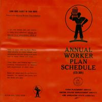 Annual Worker Plan Schedule for Pilgrim Black