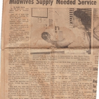 Midwives Supply Needed Service Community