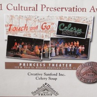Cultural Preservation Award for Creative Sanford, Inc. and Celery Soup