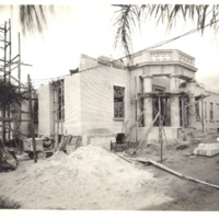 Construction of the Downtown Orlando Post Office, July 1940