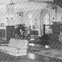 Mayfair Inn Lobby 1946