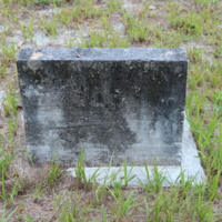 Headstone of Hollis H. Knott at Viking Cemetery