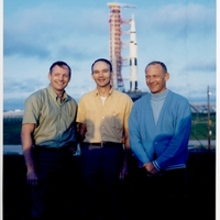 Apollo 11 Crew at Launch Complex 39A