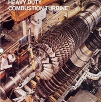 Westinghouse W-501D 100 MW Single Shaft Heavy Duty Combustion Turbine