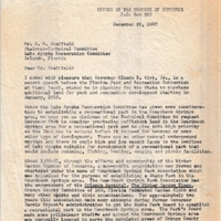Letter from Arthur W. Sinclair to C. W. Sheffield (December 22, 1967)
