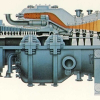 Westinghouse 501D Gas Turbine