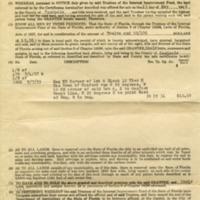 Black Family Property Deed