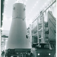 Verification Vehicle Being Moved to Launch Complex 34