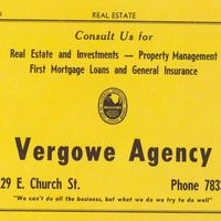 Vergowe Agency Advertisement