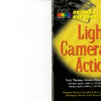 Lights, Camera, Action!, April 2 & 3, 2005
