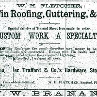 W. H. Fletcher Advertisement