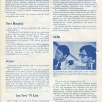 Florida From the House...To Your Home Newsletter, July 1976