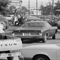 Gas Lines During the 1973 Oil Crisis