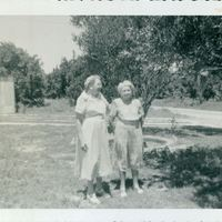 Mary Hannah Aulin Grogan and Martha Lenora Aulin Wheeler