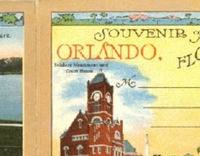 Souvenir of Orlando, Florida Booklet