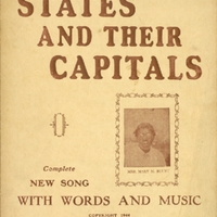 """States and Their Capitals"" Sheet Music"