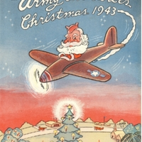 Santa Claus Joins Army Air Forces, Christmas 1943