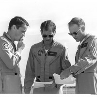 Skylab 4 Crew at Patrick Air Force Base