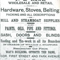 F. E. Lane Wholesale and Retail Advertisement